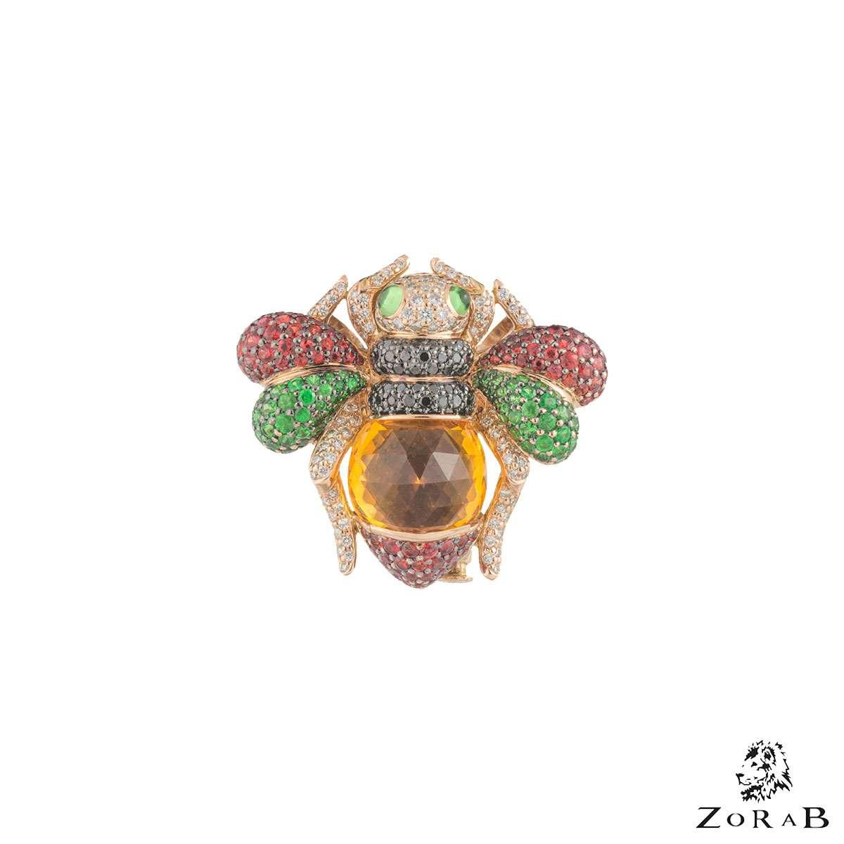 Zorab Multi-Gemstone 3 in 1 Jewellery Piece